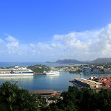 The Celebrity Summit Docked In Port - Castries, St. Lucia