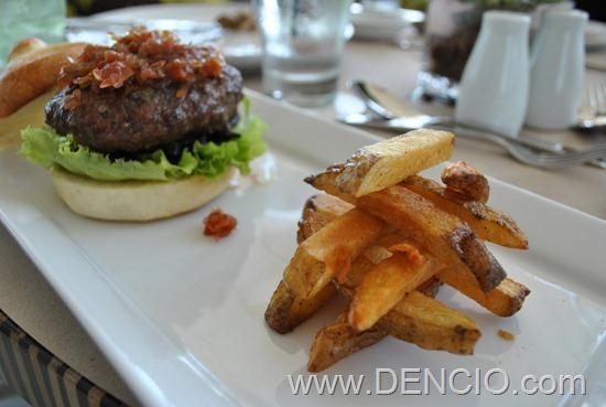 Acacia Hotel Manila (Alabang) Foie Gras Burger