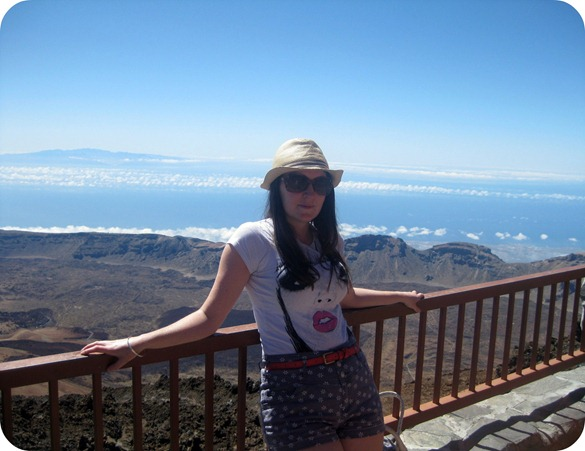 Mount Teide Outfit Picture