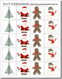 Christmas Printable: Patterning & Sequencing