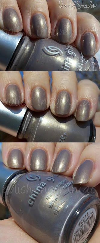 China Glaze Orchid Shadow - Throwback Thursday