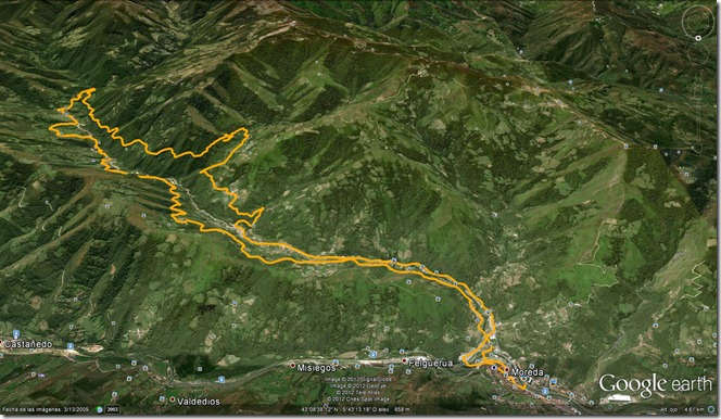 Mapa Murias-Cana 2l