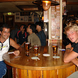 drinking beers at susies saloon in Amsterdam, Noord Holland, Netherlands