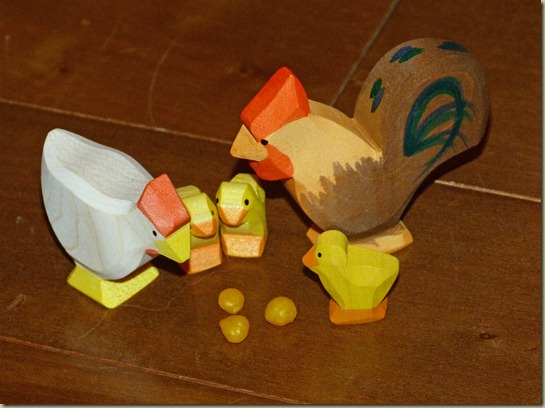 Beeswax Chicken Feed