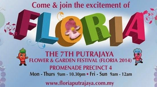 poster floria putrajaya