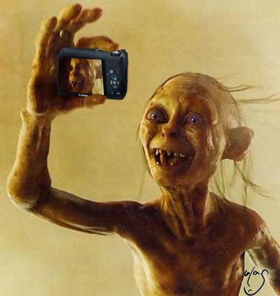 selfie-gollum