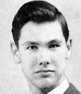 Johnny Carson Senior Year 1943 Norfolk High School, Norfolk, NE Credit: Seth Poppel/Yearbook Library