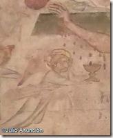 Angel recogiendo la sangre de Cristo - Museo de Navarra