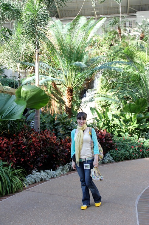me and foliage