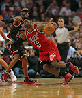 lebron james nba 130220 mia at atl 07 LeBron Debuts Prism Xs As Miami Heat Win 13th Straight