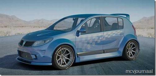 Dacia Sandero 2013 tuning 06