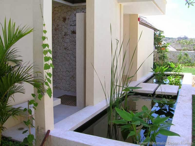 Konsep Taman Minimalis Depan Rumah