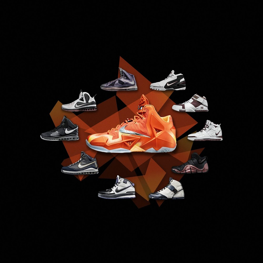 all nike lebron shoes