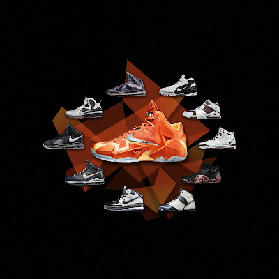 nike lebron 11 gr atomic orange 5 12 forging iron Official Unveiling of LEBRON 11 Forging Iron That Drops Next Month