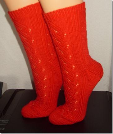 2012_07 Ajour- Frankreich- Socken aus Verena I  (2)
