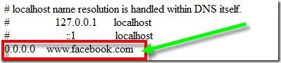 edit hosts file in windows 8