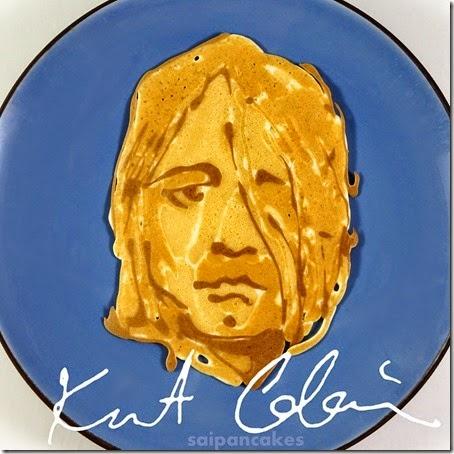 Kurt Cobain pancake