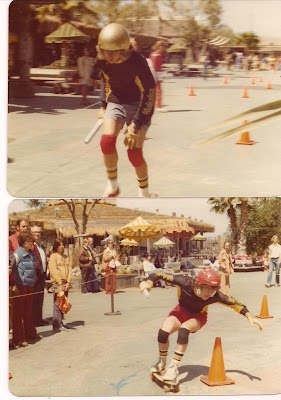 Top:Tony Alva in a team relay Bottom:Bruce also in the relay at Marine World Contest. There were no other team relays that I am aware of except this one. our team got first place