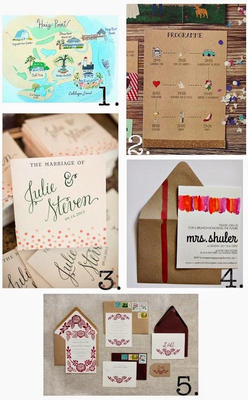 collage invitations