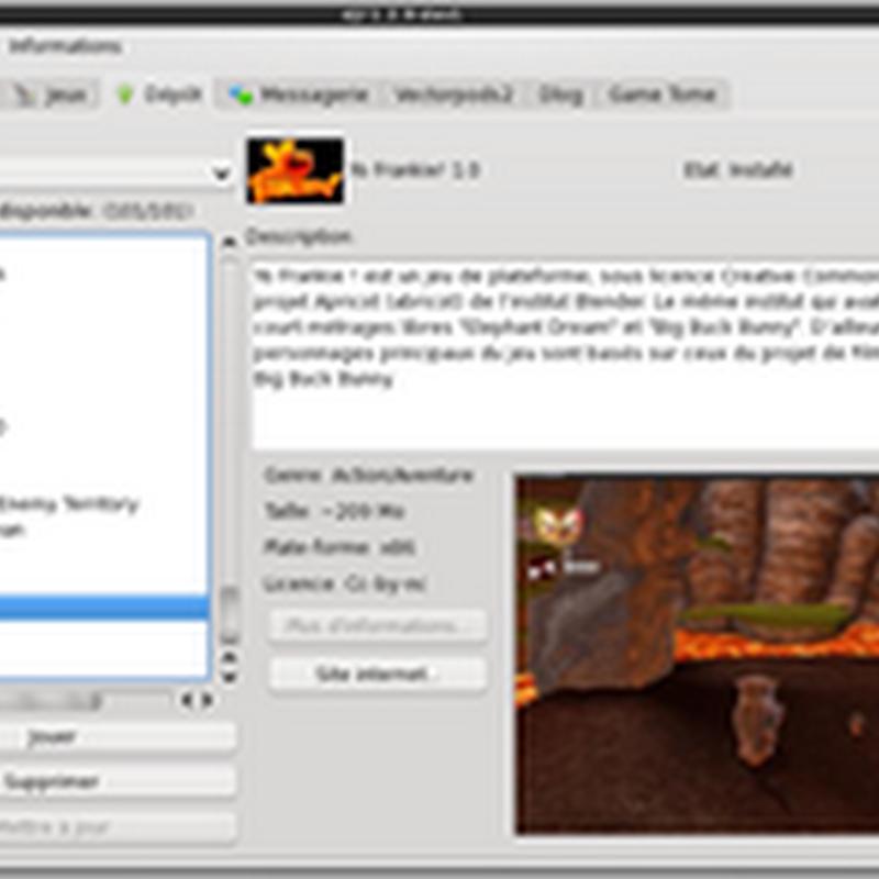 DJL es un instalador de juegos que proporciona una interfaz sencilla y muchas utilidades.