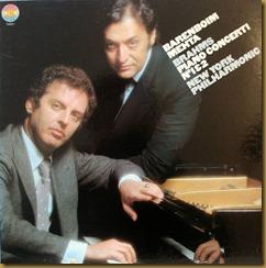 Brahms concierto piano 2 Mehta Barenboim