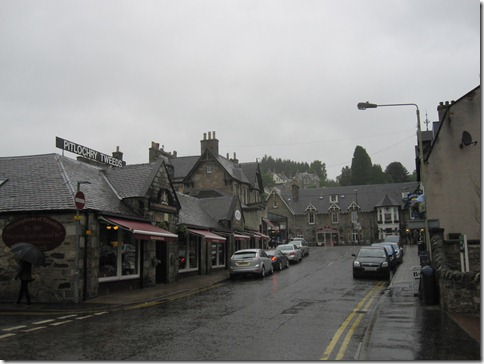 The little village of Pitlochry