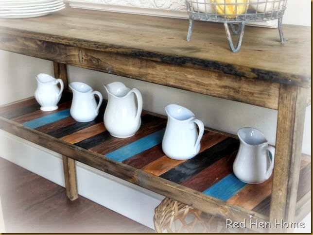 Red Hen Home Console Table 4