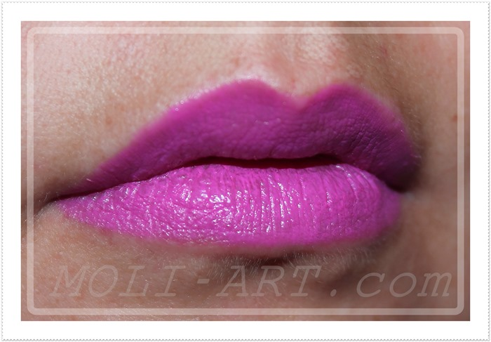 labial-fuchsia-sleek-makeup