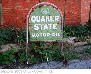 'Quaker State Motor Oil' photo (c) 2009, Chuck Coker - license: http://creativecommons.org/licenses/by-nd/2.0/