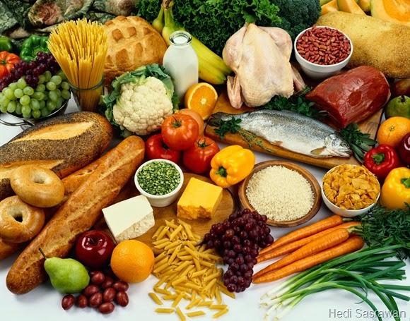 Zat Makanan yang Berperan Sebagai Sumber Energi