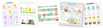 View Easter Fun Preschool Pack