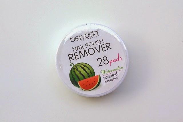 Belveda Cosmetics Nail Polish Remover Pads