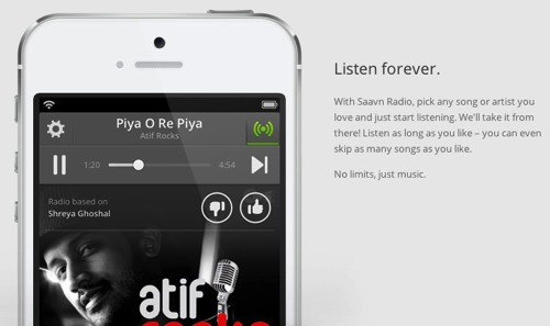 Saavn  Bollywood Music and Radio