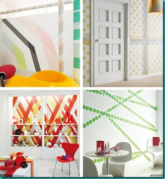 decoration-cover-your-walls-with-washi-tape-1