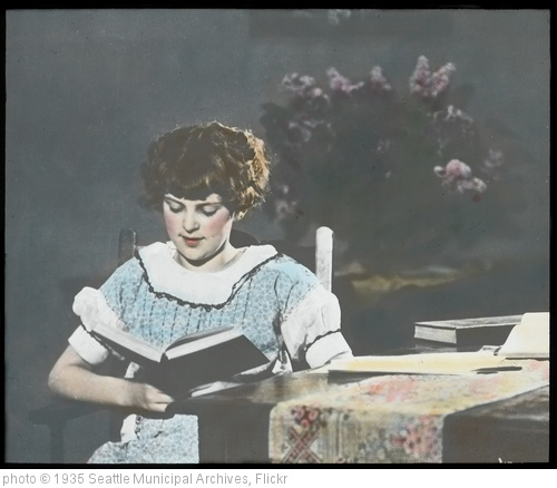 'Woman reading, 1930s' photo (c) 1935, Seattle Municipal Archives - license: http://creativecommons.org/licenses/by/2.0/