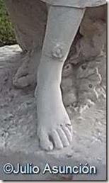 Bailarinas - Detalle del adorno de flor