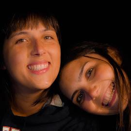 sisters by Hugo Rebelo - People Family