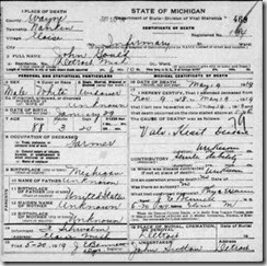 GOULD_John_possible death cert Eloise Mich 1919