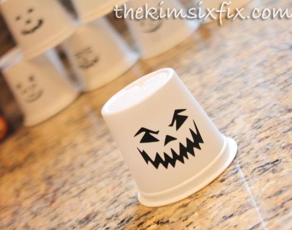 K cup jack o lantern