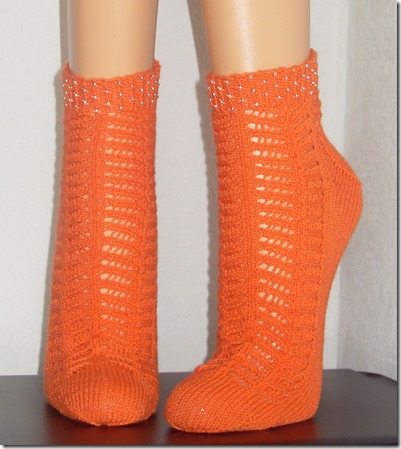 2013_06 Sneakers Chevron Eyelet in orange (1)