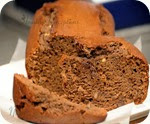 Chocolate Banana  Nut bread 2