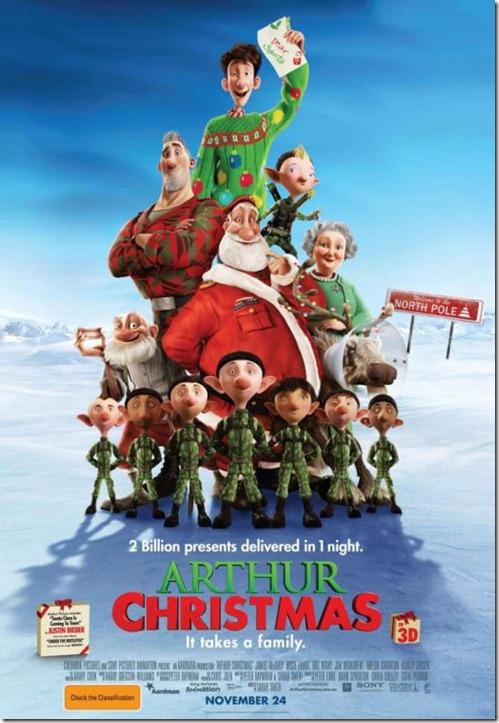 Arthur Christmas ของขวัญจานด่วนป่วนคริสต์มาส [HD Master]