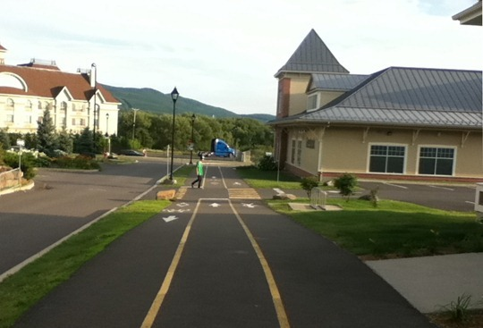 Bromont Quebec Bike Infrastructure