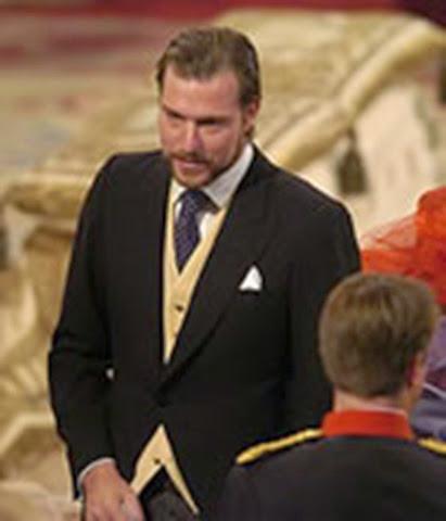Beltrán Gómez Acebo, primo del Príncipe Felipe