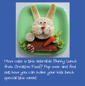 Easter Bunny Lunch for Preschool