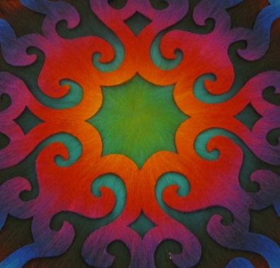 Mandala Farben
