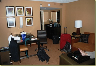2011-07-02 Just arrived in hotel suite
