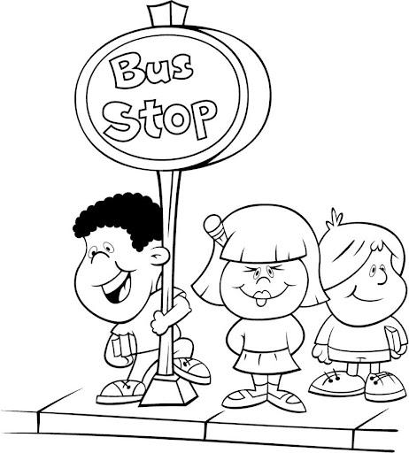 Único Señal De Stop Para Colorear Página Regalo - Ideas Para ...