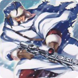 Silvery Snow Sniper