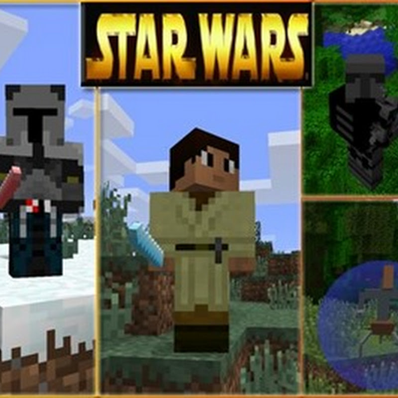 Minecraft 1.5.2 - STAR WARS Mod